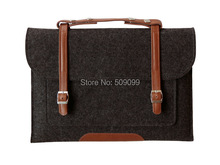 Free shipping Luxury Soft Fashion  hand laptop briefcase with mix color Bag case for  Macbook Air 13 1000pcs/lot  (China (Mainland))