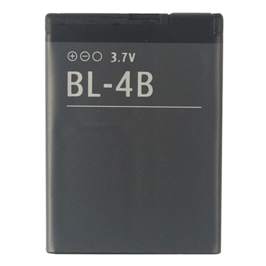 Original Replacement Battery BL-4B BL 4B 700mAh For Nokia 2505 2630 2660 2760 5000 6111 7070 7088 7370 7373 7500 N76 Top Quality(China (Mainland))