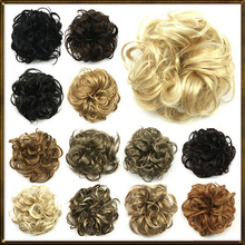 Hair buns cute hair bun, Bun Hair Chignon , Donut Roller Hairpieces, hair pad 100% high temperature silk