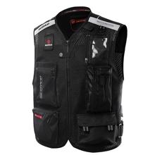 Scoyco JK46 Reflective Safety Clothing Motorcycle Reflecting Racing protective Vest Visbility Moto Security Motorbike Led Light(China (Mainland))