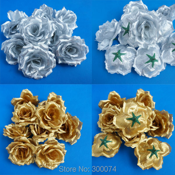 10cm silk rose flower heads as craft supplies decorative for Flower heads for crafts
