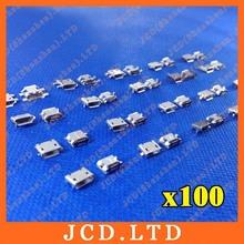 Micro USB 5P,5-pin Micro USB Jack,5Pins Micro USB Connector Tail Charging socket