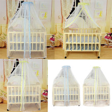 Deliacte Summer Baby Bed Mosquito Mesh Dome Curtain Net for Toddler Crib Cot Canopy  Jun9 Hot Selling(China (Mainland))