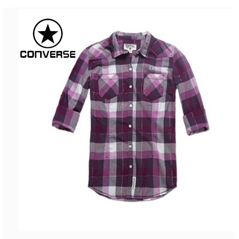 100% Original Converse womens Shirts 02097C507 Sportswear free shippin<br><br>Aliexpress