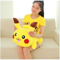 Kawaii Lying Pikachu Soft Plush Toy Doll 25cm 30cm Baby Kids Cute Anime Pokemon Stuffed Toys