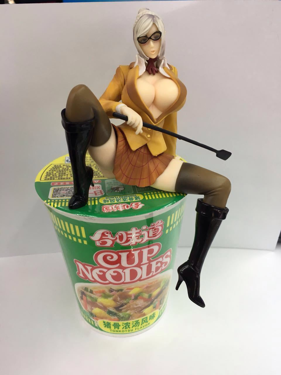 font b Anime b font Prison academy Noodle Stopper keep the lid on instant noodle