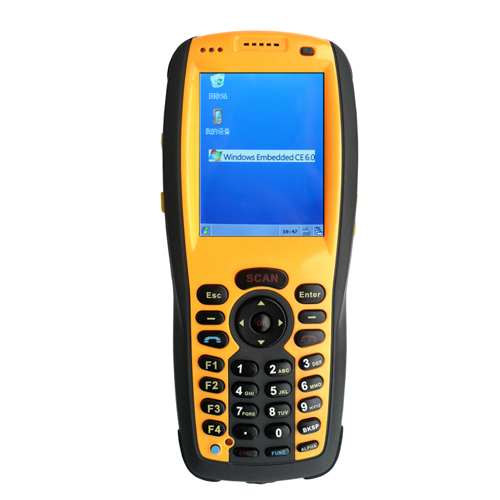 PDA 2802 handheld termial bluetooth barcode scanner Window CE 6.0 mobile phone reader widely application for ordering system(China (Mainland))