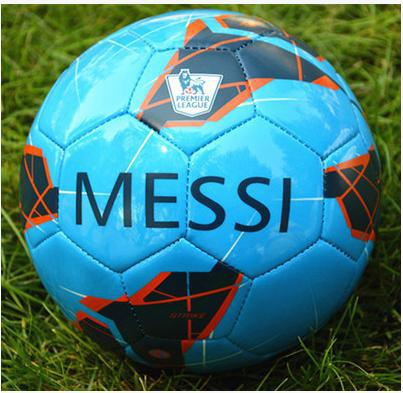 Excellent soccer ball Free shipping meesi football size 4 ball for children child foorball ball(China (Mainland))