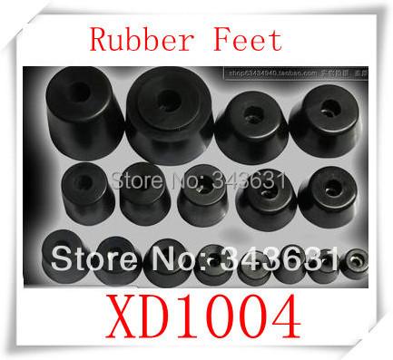 100pcs/lot  High Quality XD1004 Chair Leg Cone Shape Recessed Rubber Feet Bumper Plastic Pads<br><br>Aliexpress
