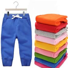 Hot Sale  2016 Fashion Kids Trousers Cotton font b Baby b font Pants For Boys