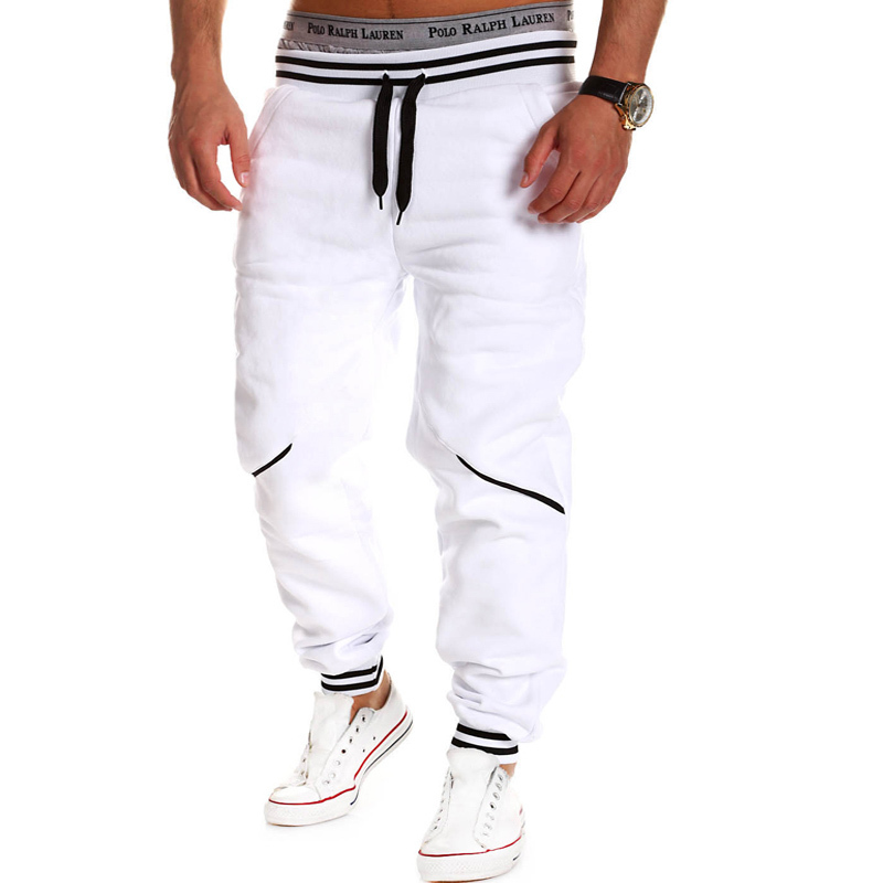 High Quality Loose Casual Tracksuit Bottoms Gym Shark Mens Cotton Pants Sport Jogging Sweatpants Male Hiphop Trousers Masculina(China (Mainland))