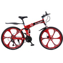 Buy Altruism X9 Folding mountain bike Aluminium 21 speed 26 inch dual disc brakes bicycles mountain bikes women crosscountry Bicycle for $322.98 in AliExpress store