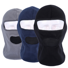 Buy Winter Breathable Warmer Thick Fleece Balaclava Motorcycle Cap Airsoft Neck Helmet Liner Full Face Mask Men Women for $4.75 in AliExpress store