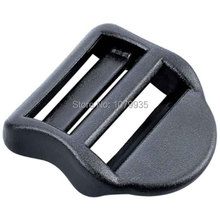 25mm Plastic Buckles Subheading Straight Slip-Resistant bag accessories adjustable buckle(China (Mainland))