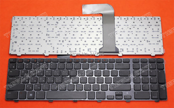 New Russian keyboard For  Dell  N7110 XPS17 L702X Vostro 3750 V3750 without backlit Black  Keyboard