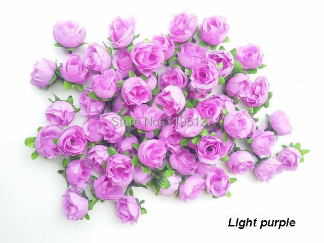 100 pcs lot wholesale light purple artificial rose flower silk flower real touch home. Black Bedroom Furniture Sets. Home Design Ideas