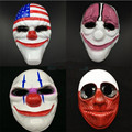 2017 Payday 2 Mask Dallas mask Wolf Chains Hoxton cosplay halloween horror clown mask pay day