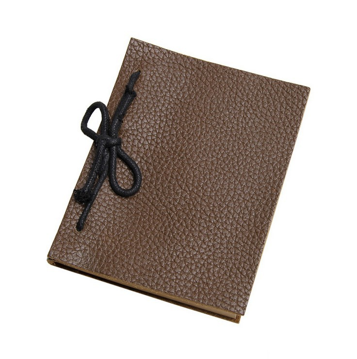 ! New Fashion Genuine Leather Notebook Diary Book C3419 - Fiona's Wallet and Bag Store store