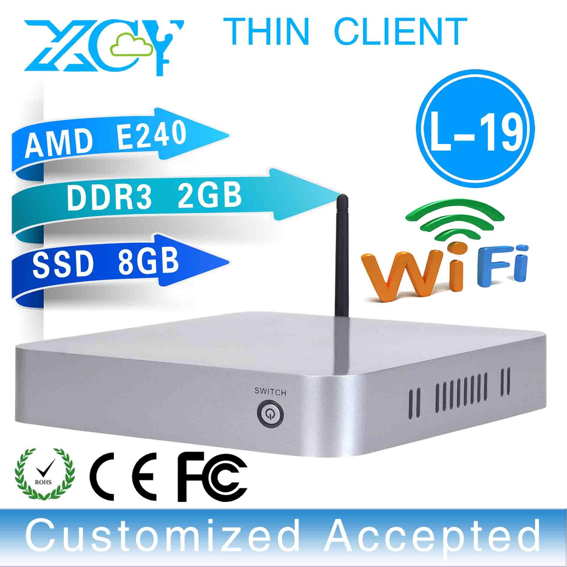 wholesale!L-19, network thin client Desktop machine mini linux server support computer input output devices(China (Mainland))