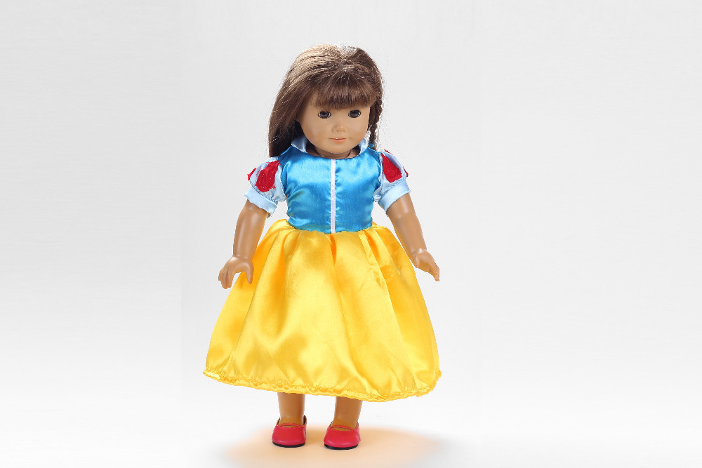 Hot selling 2015 popular 18 inch American girl doll clothes and accessories Handmade Dress b81(China (Mainland))