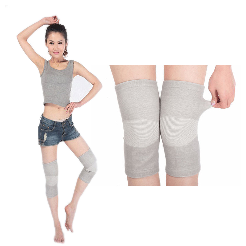 Polyester cotton pure sheep skin wool fleece knee shin leg warm warmer brace guard support protector pad kneepad kneecap(China (Mainland))