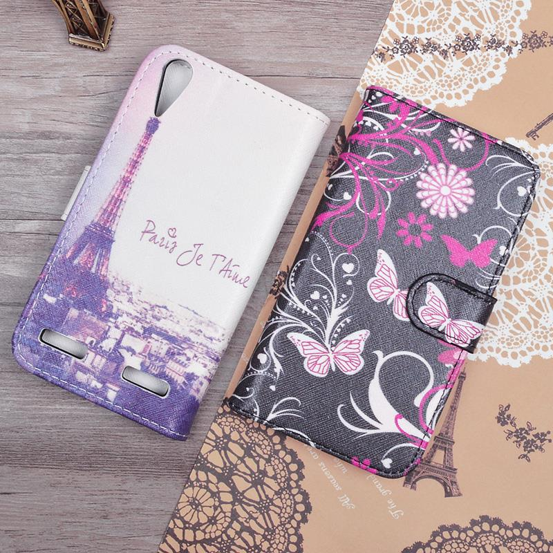 Lenovo A6000 Lenovo Lemon K3 K30-T K30-W 5.0 inch Cartoon Wallet PU Leather Flip Case Cover Printing Pattern Card Holder