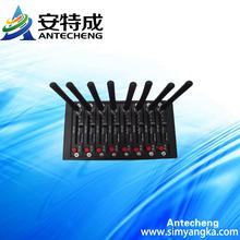 Hot selling wavecom SL808x module 3G WCDMA 8ports gsm modem