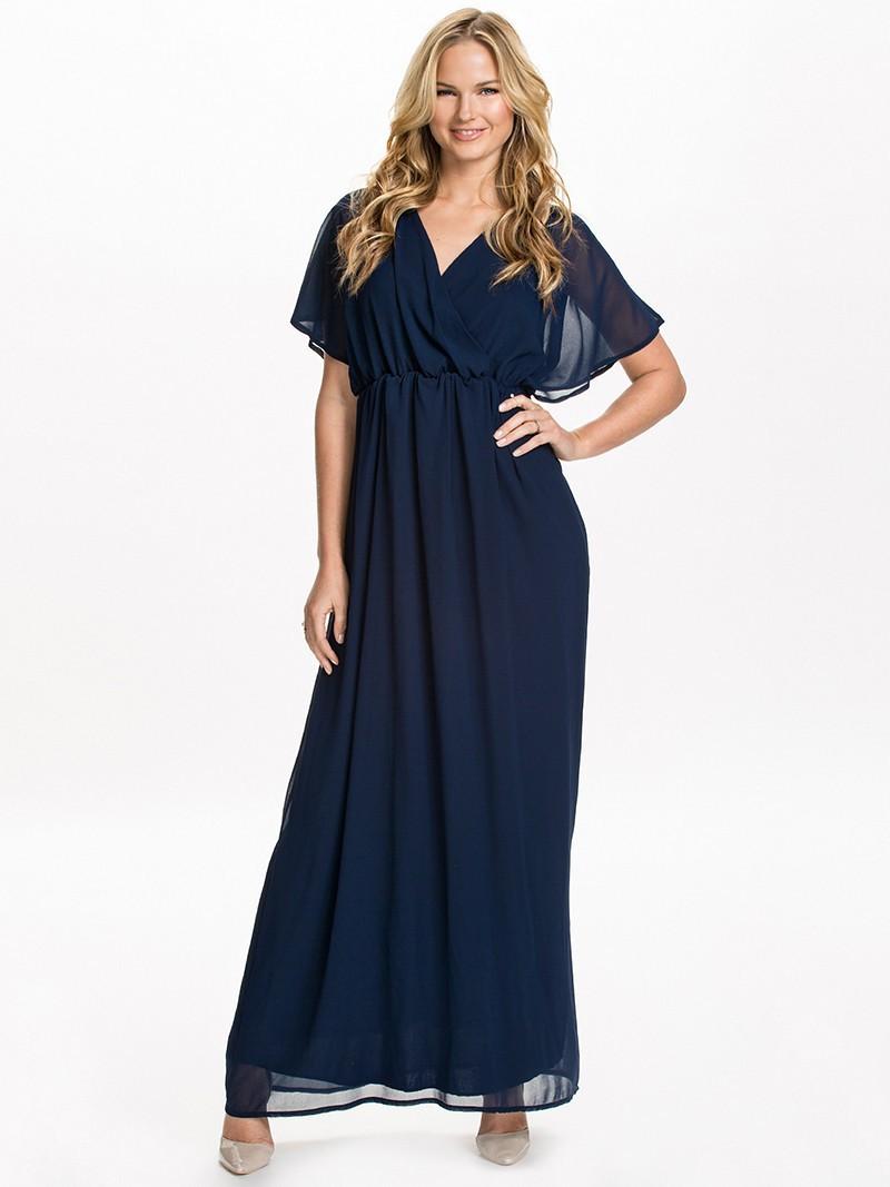 v back maxi dress plus