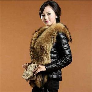 New Style Women Slim Short Winter Warm Charming Faux Fur Leather Coat Solid Pattern Fur Collar Ladies Elegant Fashion Coat(China (Mainland))
