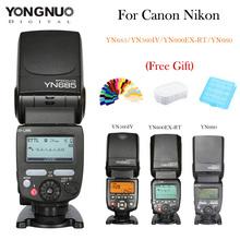 YONGNUO Вспышка Speedlite 2.4 Г Беспроводной HSS 1/8000 s Мастер Radio Slave YN560IV YN660 YN685 YN600EX-RT Для Canon Nikon Камеры(China (Mainland))