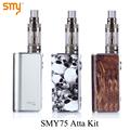 Electronic Cigarette Mini Box Mod Kit Electronic Hookah Pen SMY 75 for SMOK Atta Tank E