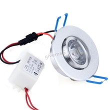 1X3W LED Ceiling lamp Recessed Downlight Down Bulb Spot Light #005 (China (Mainland))