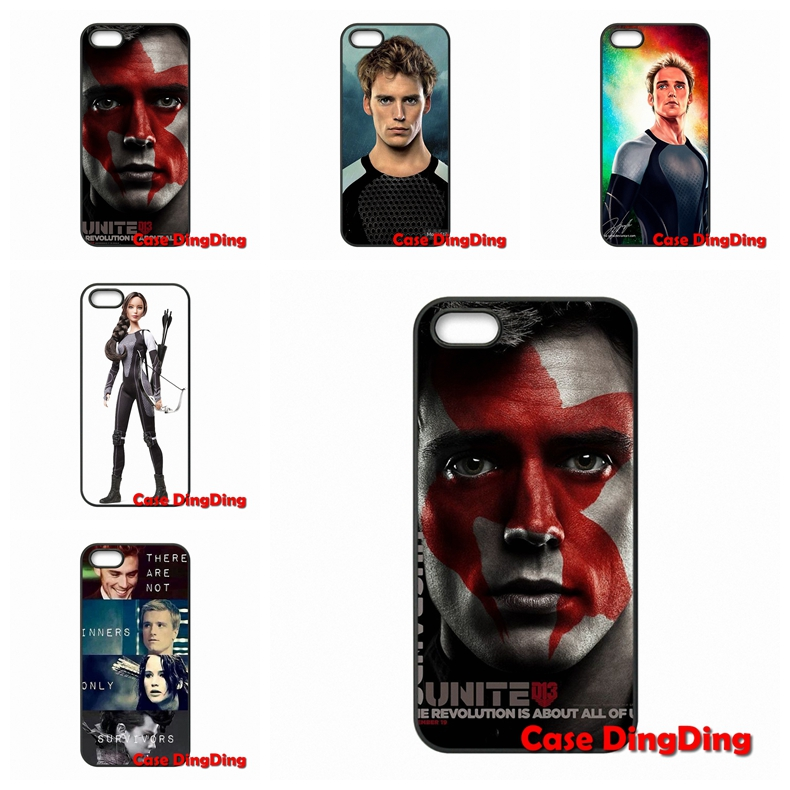 For iPhone 4 4S 5 5C SE 6 6S Plus Apple iPod Touch 4 5 6 Moto X1 The Hunger Games Catching Fire Finnick case Accessories(China (Mainland))