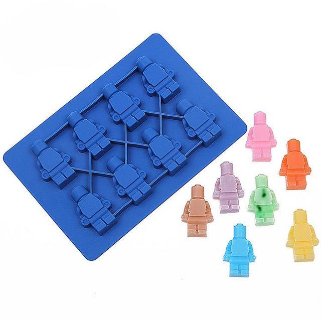 Lego Robot Ice Cube / Box (Chocolate Molds)