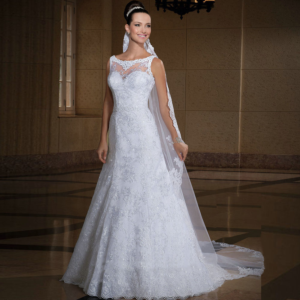Aliexpress buy vintage plus size wedding dresses plus size for Vintage wedding dresses plus size