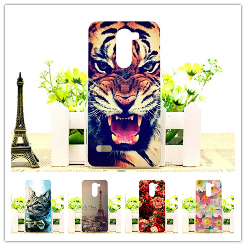 HOT cute phone Case LG Ray x190 cover Colorful printing Flowers Animals Eiffel Towers plastic hard Case LG ray lg x190