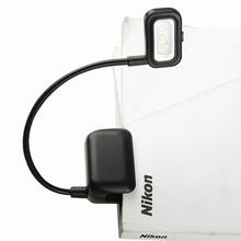 EB3370 3 LED Black Book Light Flexible Gooseneck Portable Travel Reading Clip Lamp(China (Mainland))