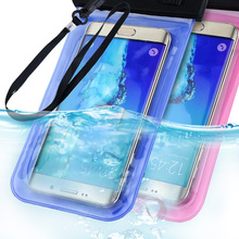Waterproof Bag Pouch Case For Samsung Galaxy S6/S6 Edge S5/S4/Note 4/3/2 For iPhone 6/6 Plus/5S 5C 5 4S Phone Cover Universal