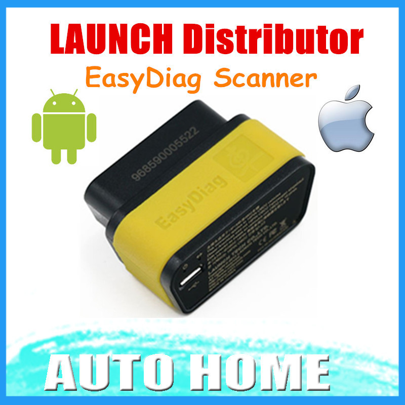 In Stock!!! 2015 100% Original Launch X431 EasyDiag OBDII Code Reader Scanner Launch Easy Diag For Android IOS Free shipping(China (Mainland))
