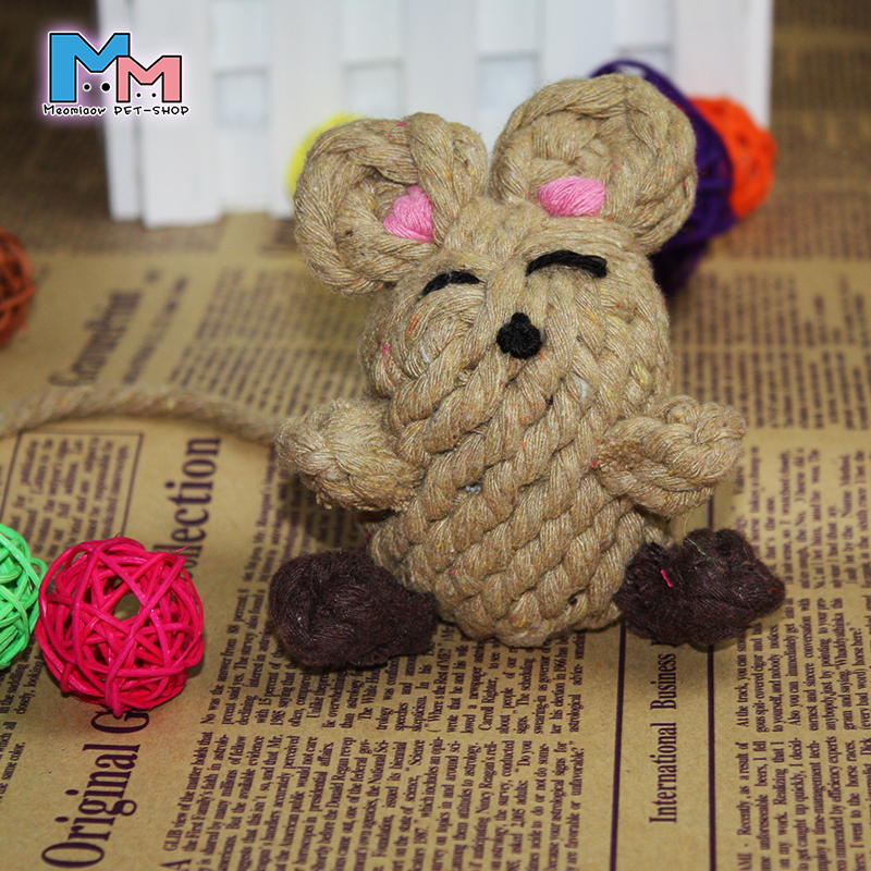 Tai Teddy dog toys puppy teeth bite resistant knots toys, pet supplies Bite chew toy Simulation of bones Small dogs(China (Mainland))