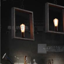 Fashion creative post-modern minimalist neo-classical chandeliers , wrought iron bar table restaurant retro hand-woven hemp rope
