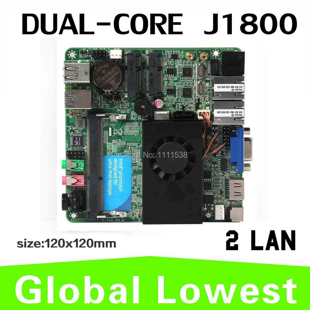 Factory price XCY Intel J1800 dual core Mini ITX Desktop Board Mini pc motherboard Micro mini main board(China (Mainland))