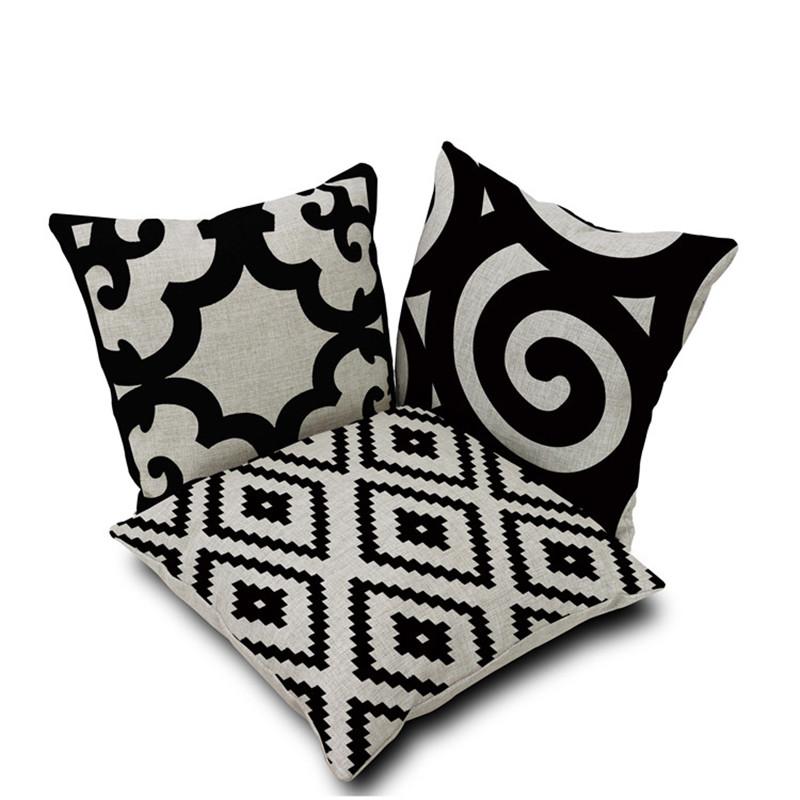 achetez en gros coussins pour canap noir en ligne des. Black Bedroom Furniture Sets. Home Design Ideas