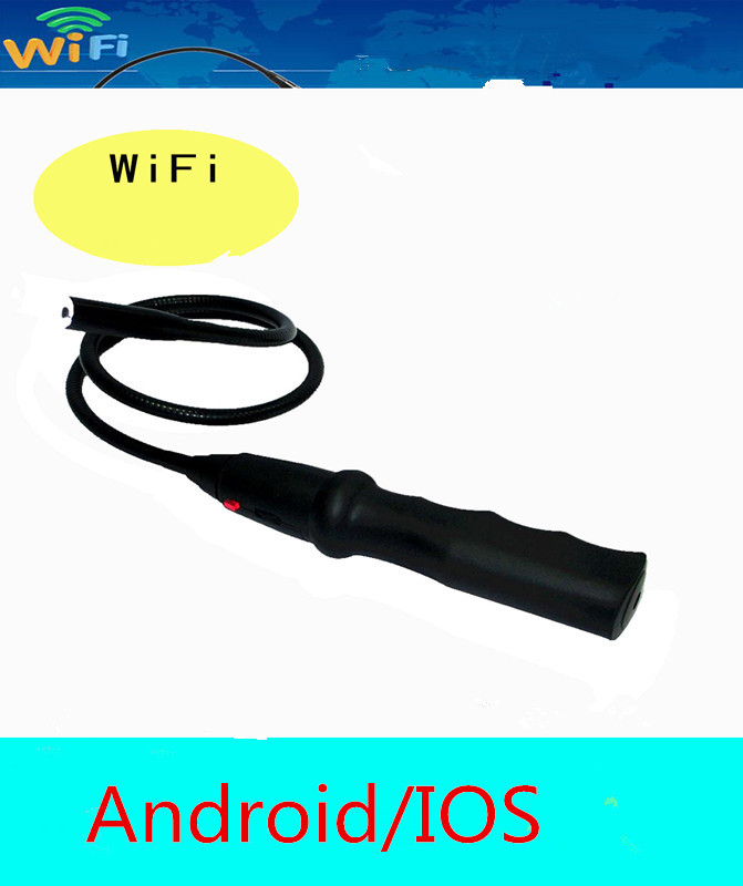 New Wifi Wireless Endoscope Camera Inspection Snake Camera For Android IOS Phone Tablet PC Freeshpping(China (Mainland))