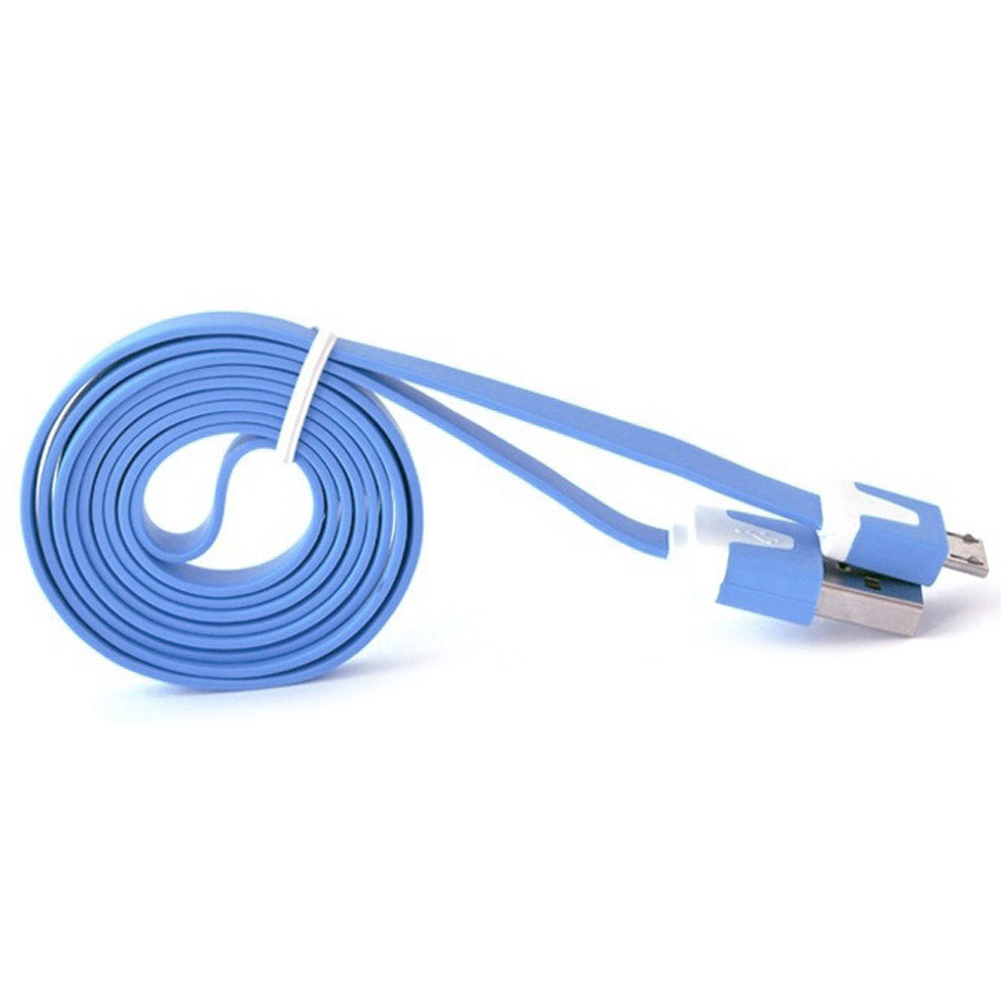 3M Noodle Flat wire Data Cable USB 2.0 charging Cable For Samsung S6 S5 S4 S3 for HTC for Xiaomi Phone Accessory