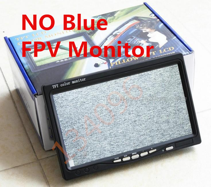 Гаджет  7 inch LCD TFT FPV 800 x 480 HD TFT Screen Monitor Photography for Ground Station None Игрушки и Хобби