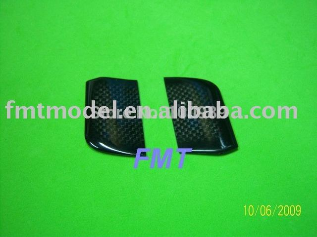 F00648,   1Pairs Black Carbon Flybar Paddle For All   T-rex 450 + FS