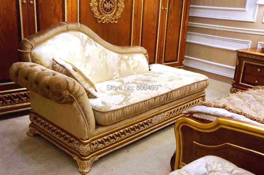 2014 hot sale rushed modern bedroom furniture set muebles Luxury wood furniture