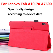 Luxury Stand Case for Lenovo A7600 tablet Cover funda Capa,Flip PU Leather Smart Back Cover for Lenovo tab A10-70FA7600 10.1Case