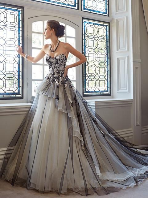 Роскошь и современный велюр и органза кристалл вышивка бисером кружево аппликации бальное платье цвет шампанского белый и черный свадьба платье